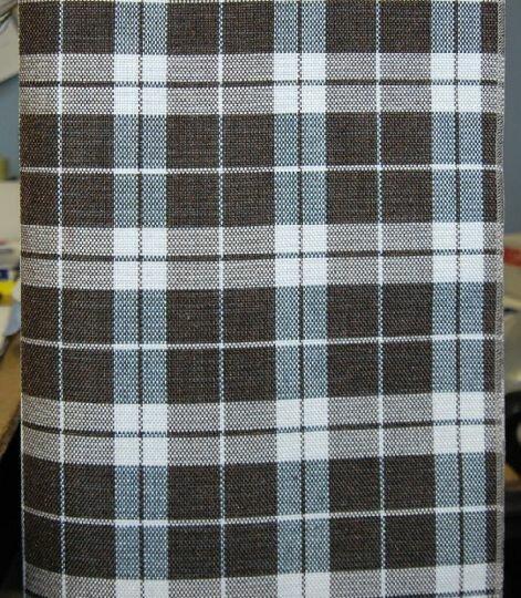 Shotlandiya dark brown. Жаккард.